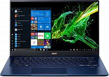 "Ультрабук Acer Swift 5 SF514-54T-759J Core i7 1065G7/16Gb/SSD1Tb/Intel Iris Plus graphics/14""/IPS/Touch/FHD (1920x1080)/Windows 10/blue/WiFi/BT/Cam"