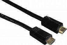 Кабель аудио-видео Hama High Speed HDMI (m)/HDMI (m) 5м. Позолоченные контакты черный 3зв (00122106)