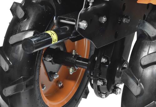 Мотоблок Carver МТ-651 (01.006.00025) бензиновый 4800кВт 6.5л.с. фото 3