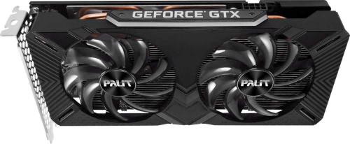 Видеокарта Palit PCI-E PA-GTX1660SUPER GP 6G nVidia GeForce GTX 1660SUPER 6144Mb 192bit GDDR6 1530/14000 DVIx1/HDMIx1/DPx1/HDCP Ret фото 7