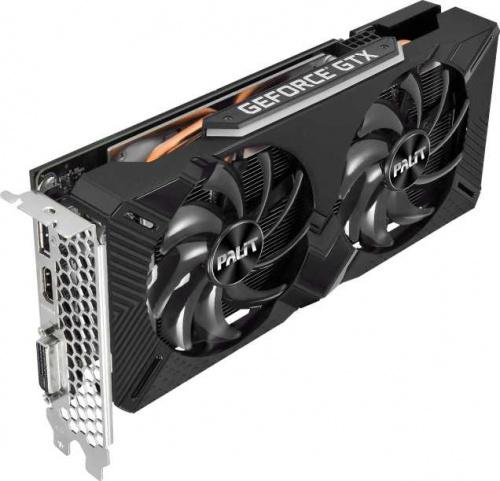 Видеокарта Palit PCI-E PA-GTX1660SUPER GP 6G nVidia GeForce GTX 1660SUPER 6144Mb 192bit GDDR6 1530/14000 DVIx1/HDMIx1/DPx1/HDCP Ret фото 8