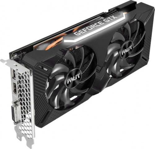 Видеокарта Palit PCI-E PA-GTX1660SUPER GP 6G nVidia GeForce GTX 1660SUPER 6144Mb 192bit GDDR6 1530/14000 DVIx1/HDMIx1/DPx1/HDCP Ret фото 9