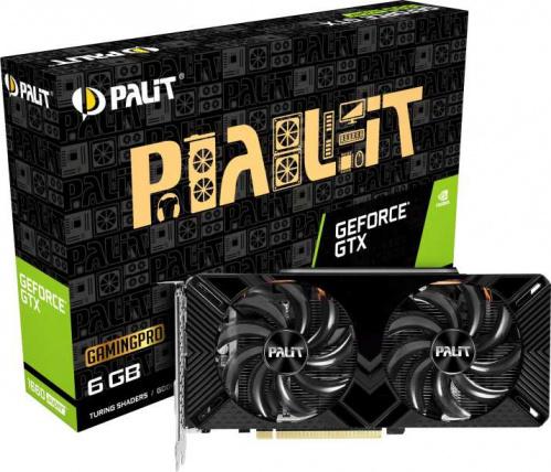 Видеокарта Palit PCI-E PA-GTX1660SUPER GP 6G nVidia GeForce GTX 1660SUPER 6144Mb 192bit GDDR6 1530/14000 DVIx1/HDMIx1/DPx1/HDCP Ret фото 10