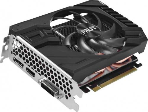 Видеокарта Palit PCI-E PA-GTX1660SUPER STORMX OC 6G nVidia GeForce GTX 1660SUPER 6144Mb 192bit GDDR6 1530/14000 DVIx1/HDMIx1/DPx1/HDCP Ret фото 2