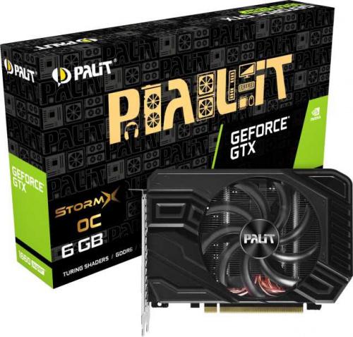 Видеокарта Palit PCI-E PA-GTX1660SUPER STORMX OC 6G nVidia GeForce GTX 1660SUPER 6144Mb 192bit GDDR6 1530/14000 DVIx1/HDMIx1/DPx1/HDCP Ret фото 9