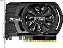 Видеокарта Palit PCI-E PA-GTX1650 STORMX 4G nVidia GeForce GTX 1650 4096Mb 128bit GDDR5 1485/8000 DVIx1/HDMIx1/HDCP Bulk