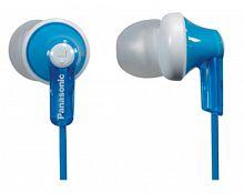 Наушники вкладыши Panasonic RP-HJE118GU 1.1м белый/голубой проводные в ушной раковине (RP-HJE118GUA)