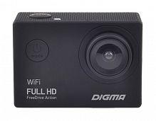 Видеорегистратор Digma FreeDrive Action Full HD WiFi черный 1.2Mpix 1080x1920 1080p 150гр. GeneralPlus 4247