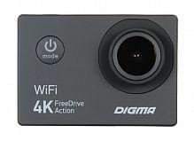 Видеорегистратор Digma FreeDrive Action 4K WiFi черный 8Mpix 2160x3840 2160p 150гр. Allwinner V3