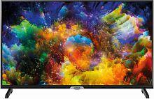 "Телевизор LED Hyundai 32"" H-LED32ES5004 Metal черный/HD READY/60Hz/DVB-T2/DVB-C/DVB-S2/USB/WiFi/Smart TV (RUS)"