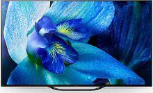 """Телевизор OLED Sony 55"""" KD55AG8BR2 BRAVIA черный/серебристый/Ultra HD/100Hz/DVB-T/DVB-T2/DVB-C/DVB-S/DVB-S2/USB/WiFi/Smart TV"""