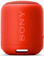 Колонка порт. Sony SRS-XB12 красный 10W 1.0 BT 10м (SRSXB12R.RU2)