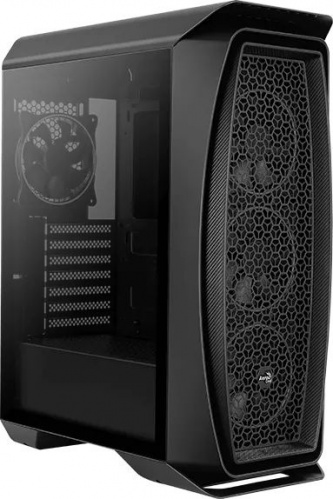 Корпус Aerocool Aero One Eclipse-G-BK-v1 черный без БП ATX 4x120mm 2x140mm 2xUSB3.0 audio bott PSU фото 2