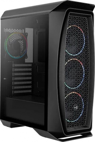 Корпус Aerocool Aero One Eclipse-G-BK-v1 черный без БП ATX 4x120mm 2x140mm 2xUSB3.0 audio bott PSU фото 3