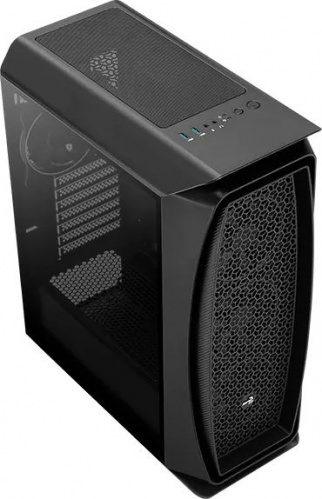 Корпус Aerocool Aero One Eclipse-G-BK-v1 черный без БП ATX 4x120mm 2x140mm 2xUSB3.0 audio bott PSU фото 9
