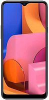 "Смартфон Samsung SM-A207F Galaxy A20s 32Gb 3Gb синий моноблок 3G 4G 2Sim 6.5"" 720x1560 Android 9 13Mpix 802.11 b/g/n GPS GSM900/1800 GSM1900 TouchSc MP3 microSD max512Gb"