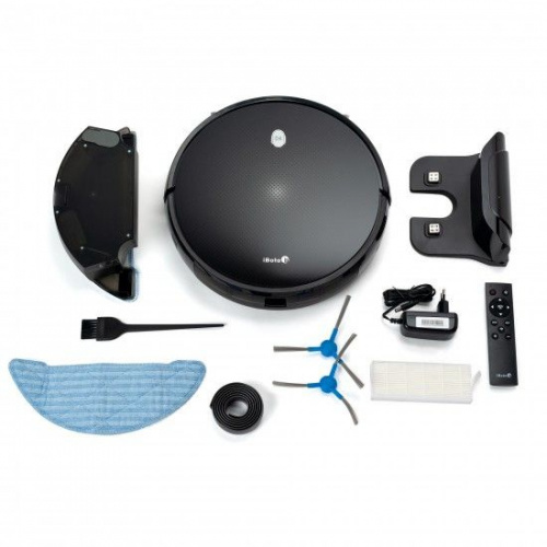 Пылесос-робот iBoto Smart V720GW Aqua черный фото 6
