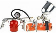 Набор пневмоинструментов Stayer 06488-H5 компл.:5 предметов красный/оранжевый