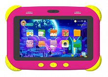 "Планшет Digma CITI Kids MT8321 (1.3) 4C/RAM2Gb/ROM32Gb 7"" IPS 1024x600/3G/Android 9.0/розовый/2Mpix/0.3Mpix/BT/WiFi/Touch/microSDHC 64Gb/minUSB/2800mAh"