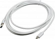 Кабель Buro BHP USB-TPC-3W USB 3.0 A(m) USB Type-C (m) 3м белый