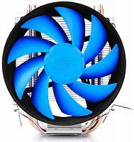 Устройство охлаждения(кулер) Deepcool GAMMAXX 200 V2 Soc-FM2+/AM2+/AM3+/AM4/1150/1151/1155 4-pin 18-24dB Al+Cu 100W 326gr Ret
