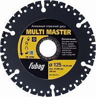 Отрезной диск универсальный Fubag Multi Master (88125-3) d=125мм d(посад.)=22.23мм (угловые шлифмашины)