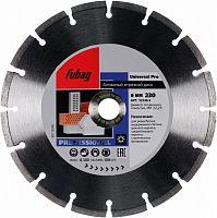 Алмазный диск универсальный Fubag Universal Pro 230/22.2 (12230-3) d=230мм d(посад.)=22.23мм (угловые шлифмашины)
