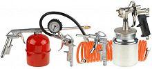 Набор пневмоинструментов Stayer 06487-H5 компл.:5 предметов красный/оранжевый