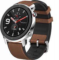 """Смарт-часы Amazfit GTR 47мм 1.39"""" AMOLED серебристый"""