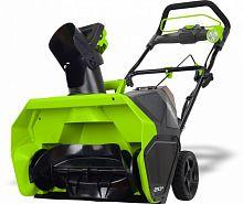 Снегоуборщик электрический Greenworks GD40STK6