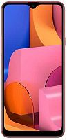"Смартфон Samsung SM-A207F Galaxy A20s 32Gb 3Gb красный моноблок 3G 4G 2Sim 6.5"" 720x1560 Android 9 13Mpix 802.11 b/g/n GPS GSM900/1800 GSM1900 TouchSc MP3 microSD max512Gb"