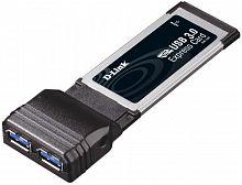 Сетевой адаптер PCI Express D-Link DUB-1320 Express Card/34