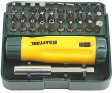 Набор принадлежностей Kraftool 26142-H32 32 предмета (жесткий кейс)
