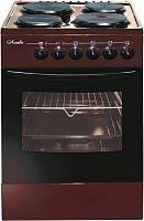Плита Электрическая Лысьва ЭП 4/1э03 М2С коричневый эмаль (без крышки)