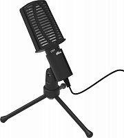 Микрофон проводной Ritmix RDM-125 1.8м черный