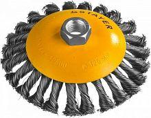 Щетка дисковая по металлу Stayer 35135-125 d=125мм (угловые шлифмашины)