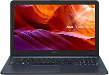 "Ноутбук Asus VivoBook X543BA-DM624 A4 9125/4Gb/SSD256Gb/AMD Radeon R3/15.6""/FHD (1920x1080)/Endless/grey/WiFi/BT/Cam"