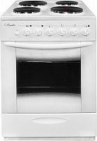 Плита Электрическая Лысьва ЭП 4/1э04 МС белый эмаль (без крышки)