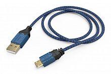 Зарядный кабель Hama High Quality черный/синий для: PlayStation 4 (00054473)