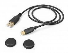 Зарядный кабель Hama Super Soft черный для: PlayStation 4 (00054474)