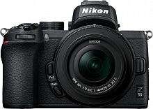 "Фотоаппарат Nikon Z50 черный 20.9Mpix 3.2"" 4K WiFi Nikkor Z DX 16-50mm VR + FTZ EN-EL25"