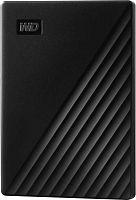 """Жесткий диск WD Original USB 3.0 1Tb WDBYVG0010BBK-WESN My Passport 2.5"""" черный"""