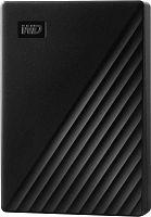 """Жесткий диск WD Original USB 3.0 4Tb WDBPKJ0040BBK-WESN My Passport 2.5"""" черный"""