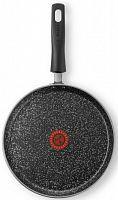 Сковорода блинная Tefal Granit 04192525 круглая ручка несъемная (без крышки) черный (9100036468)