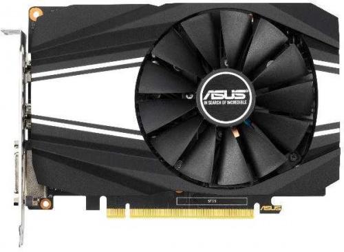 Видеокарта Asus PCI-E PH-GTX1650S-O4G nVidia GeForce GTX 1650SUPER 4096Mb 128bit GDDR6 1530/12002 DVIx1/HDMIx1/DPx1/HDCP Ret