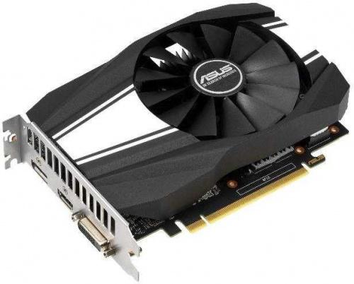 Видеокарта Asus PCI-E PH-GTX1650S-O4G nVidia GeForce GTX 1650SUPER 4096Mb 128bit GDDR6 1530/12002 DVIx1/HDMIx1/DPx1/HDCP Ret фото 2