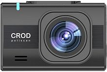 Видеорегистратор Silverstone F1 Crod A90-GPS poliscan черный 2Mpix 1920x1080 1080p 140гр. GPS Novatek 96672