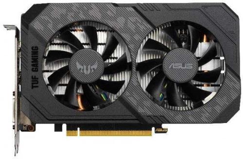 Видеокарта Asus PCI-E TUF-GTX1660S-O6G-GAMING NVIDIA GeForce GTX 1660SUPER 6144Mb 192 GDDR6 1530/14002 DVIx1/HDMIx1/DPx1/HDCP Ret