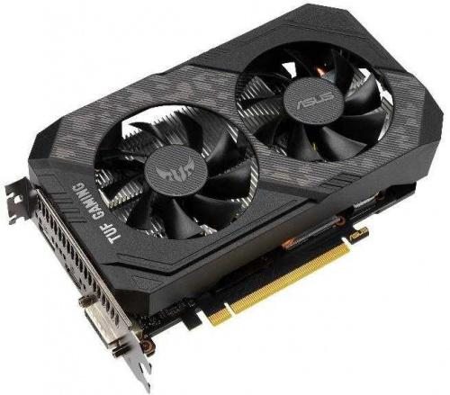 Видеокарта Asus PCI-E TUF-GTX1660S-O6G-GAMING NVIDIA GeForce GTX 1660SUPER 6144Mb 192 GDDR6 1530/14002 DVIx1/HDMIx1/DPx1/HDCP Ret фото 3