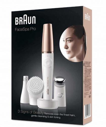 Эпилятор Braun Face Spa Pro 911 скор.:1 насад.:3 от электр.сети белый фото 2